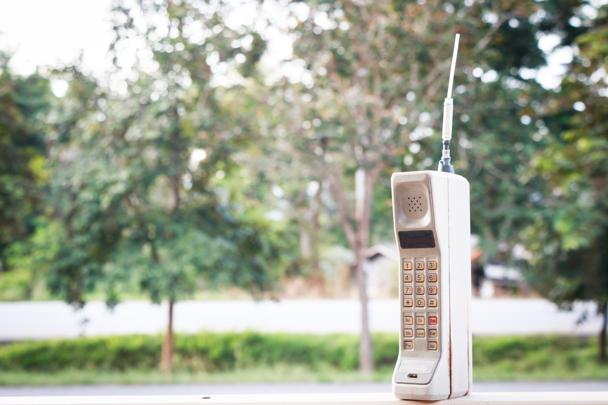 You've replaced your 80's phone, haven't you?